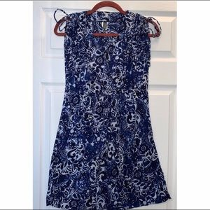 COPY - Lauren Ralph Lauren Blue Paisley Sun Dress…